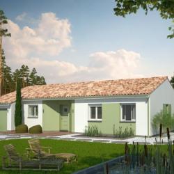 Maison  4 pièces + Terrain  1470 m² Marmande