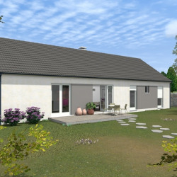 Maison  5 pièces + Terrain  1000 m² Issoudun