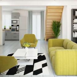 Maison  4 pièces + Terrain  1450 m² Le Fresne