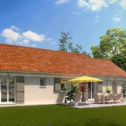 Maison  4 pièces + Terrain  575 m² Bailleau-le-Pin