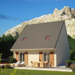 Maison  4 pièces + Terrain  639 m² Saint-Piat