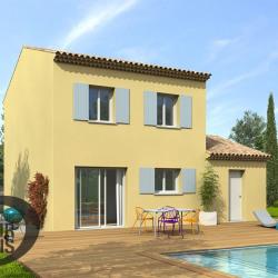 Maison  4 pièces + Terrain  350 m² Aigues-Vives
