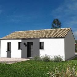 Maison  3 pièces + Terrain  1092 m² Vivonne