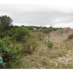 Vente Terrain Vallérargues 5500 m²