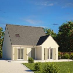 Maison  4 pièces + Terrain  901 m² Azay-sur-Cher