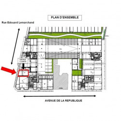 Location Local commercial Saint-Pierre-des-Corps 30 m²