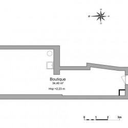 Location Local commercial Deuil-la-Barre 35,4 m²