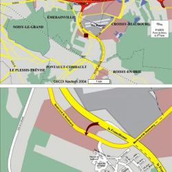 Location Local d'activités Émerainville 4050 m²