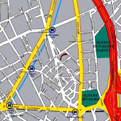 Location Bureau Paris 20ème 3026 m²