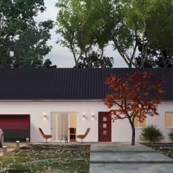 Maison  3 pièces + Terrain  870 m² Saint-Sylvestre-Pragoulin