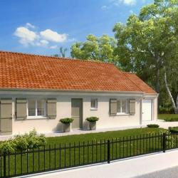Maison  5 pièces + Terrain   m² Saint-Clair-sur-Epte