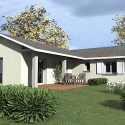 Maison  4 pièces + Terrain  555 m² Vitteaux