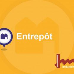 Location Entrepôt Bruges 1050 m²