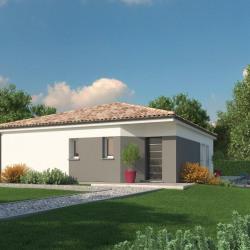 Maison  4 pièces + Terrain  605 m² Oeyreluy