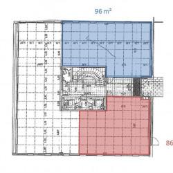 Location Bureau Saint-Martin-du-Vivier 182 m²
