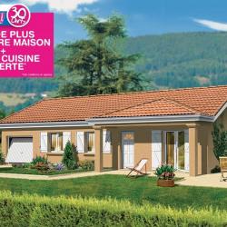 Maison  3 pièces + Terrain   m² Villié-Morgon