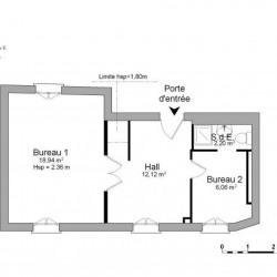 Location Local commercial Lieusaint 39,32 m²