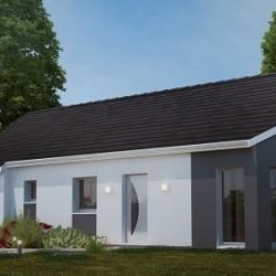 Maison  4 pièces + Terrain  700 m² Fresnoy-Folny