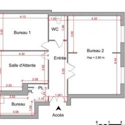 Location Local commercial Enghien-les-Bains (95880)