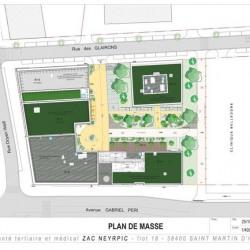 Location Bureau Saint-Martin-d'Hères 1585 m²