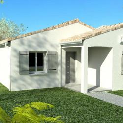 Maison  3 pièces + Terrain  1100 m² Chaniers