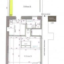 Vente Bureau Grenoble 41,91 m²