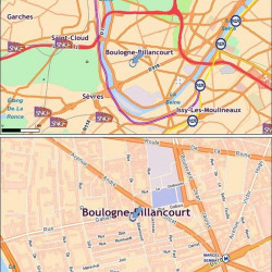 Location Bureau Boulogne-Billancourt 249 m²