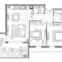 plan appartement monne decroix