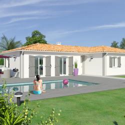 Maison  4 pièces + Terrain  850 m² Le Passage