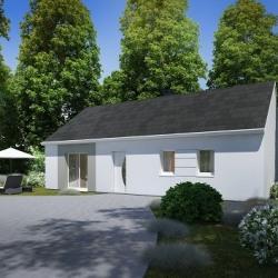 Maison  4 pièces + Terrain  657 m² Montjavoult