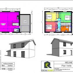 Maison  4 pièces + Terrain  270 m² Chaleins (01480)