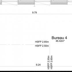 Vente Bureau Ifs 46 m²