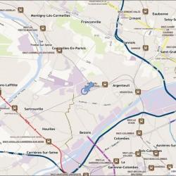 Location Bureau Argenteuil 451 m²
