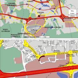 Location Local d'activités Lognes 640 m²