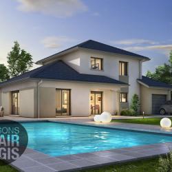 Maison  5 pièces + Terrain  720 m² Saint-Jean-d'Ardières