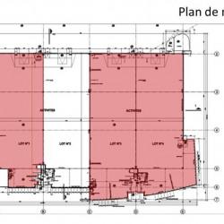 Location Local d'activités Lieusaint 1388 m²