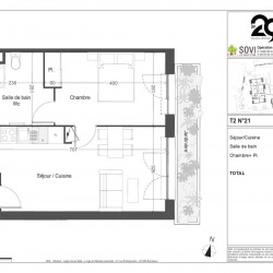 vente Appartement 2 pièces Villenave d Ornon