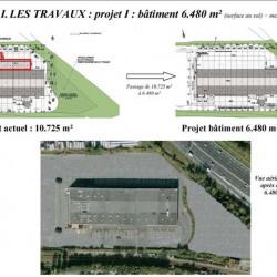 Location Entrepôt Chilly-Mazarin 6480 m²