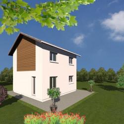 Maison  4 pièces + Terrain  500 m² Saint-Pierre-de-Curtille