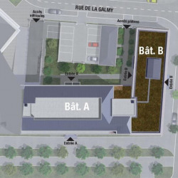 Location Bureau Chessy 1897 m²
