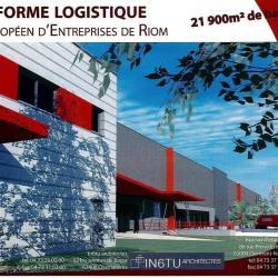Location Entrepôt Riom 21900 m²