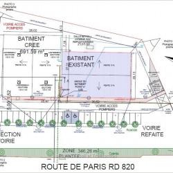 Location Local d'activités Fenouillet 691 m²