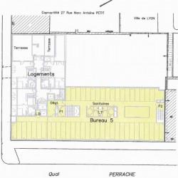 Location Bureau Lyon 2ème 852 m²