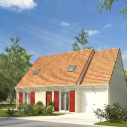 Maison  5 pièces + Terrain  400 m² Donnemarie-Dontilly