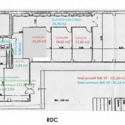 Location Bureau Issy-les-Moulineaux 730 m²