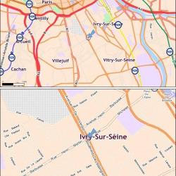 Location Bureau Ivry-sur-Seine 4758 m²