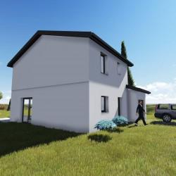 Maison  4 pièces + Terrain  210 m² Morancé (69480)