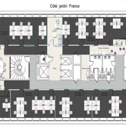 Location Bureau Puteaux 4593 m²