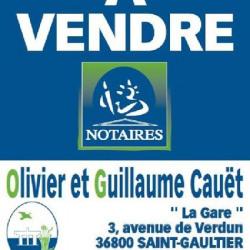 Vente Terrain Saint-Gaultier 1137 m²