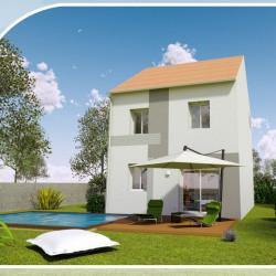 Maison  6 pièces + Terrain  150 m² Livry-Gargan